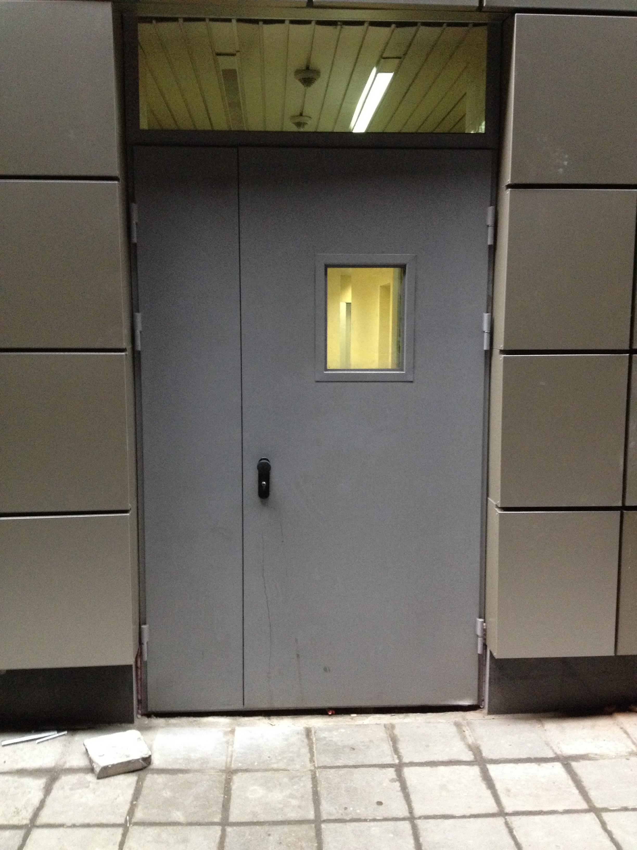 огнестойкая дверь