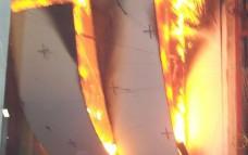 Как проходят испытания противопожарных дверей на огнестойкость