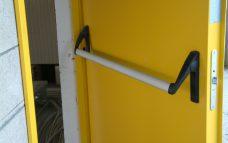 Дверь противопожарная металлическая