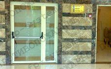 Противопожарная дверь стеклянная