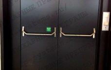 Противопожарная дверь двойная