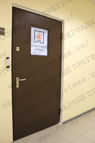 Двери противопожарные металлические по цене производителя