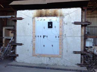 Испытания дверей на противопожарные свойства