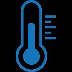 Выдержат перепады температуры от -50 до +80 ºС