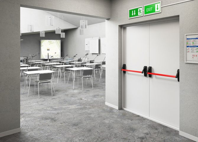 Огнеупорные двери в бизнес классе