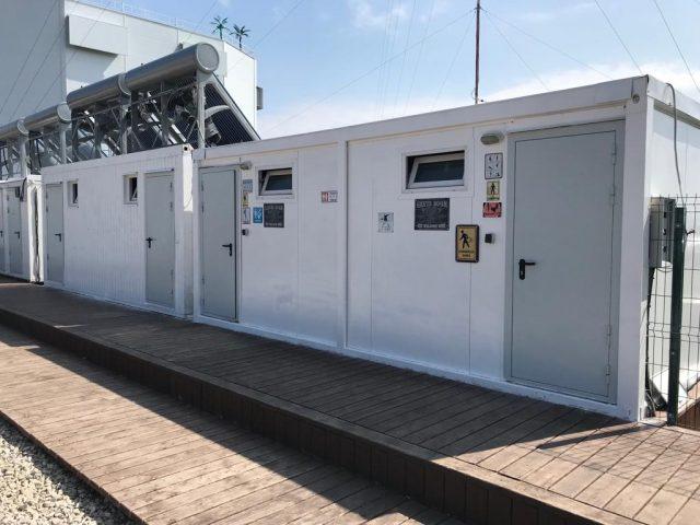 Противопожарные двери EI60 в Подмосковной турбазе