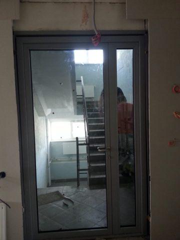 Светопрозрачные двери в строящийся офисный центр г. Наро-Фоминск
